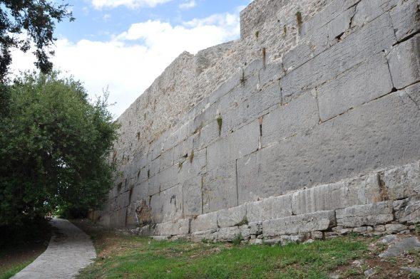 Wall of Ancient Amvrakia